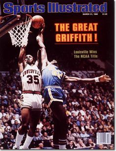 March 31 1980 Darrell Griffith Louisville Cardinals Sports Illustrated 1 for sale online Basketball History, Basketball Tricks, Best Basketball Shoes, Love And Basketball, Basketball Legends, Basketball Uniforms, Basketball Players, Basketball Hoop, College Basketball
