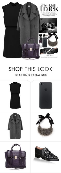 """""""Без названия #2574"""" by catelinota-a ❤ liked on Polyvore featuring Sandro, Vera Wang, 3.1 Phillip Lim, Marni, Belk & Co. and Chanel"""