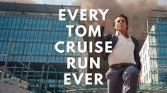 Tom Cruise must be running from something