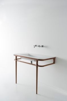 Badkamertrends on pinterest magazines vans and toilets - Wastafel console ...