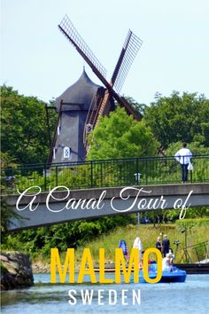 Read on to see the sights and attractions along a canal tour in Malmö Sweden. It's an easy day trip from Copenhagen