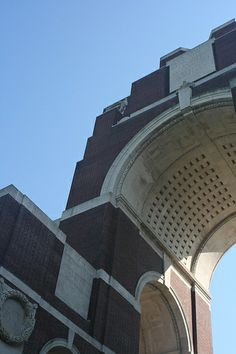 Thiepval Memorial & Thiepval Anglo-French Cemetery Authuile Somme France Sir Edwin L. Lutyens (1869- 1944), Principal Architect