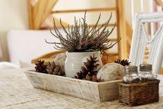 Fotoblog uživatelky lizaa   Modrastrecha.cz Winter Decorations, Table Decorations, Flower Arrangements, Autumn, Furniture, Home Decor, Embellishments, Xmas, Floral Arrangements