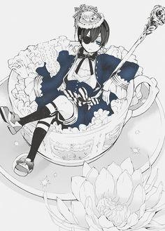 ciel phantomhive, from kuroshitsuji/black butler #anime