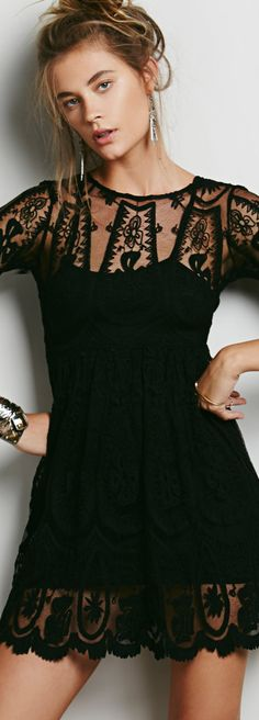 Free People ~ Teardrop Pixie Dress