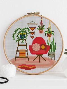 Cross Stitch Tutorial, Cross Stitch Art, Cross Stitching, Hand Embroidery, Embroidery Designs, Modern Cross Stitch Patterns, Crossstitch, Creative Art, Needlework