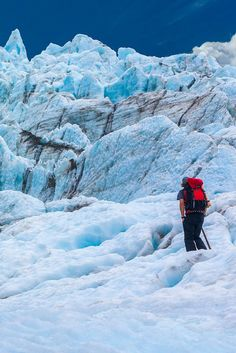 Hiking the Fox Glacier in New Zealand - The Photos say it all... Why you should visit New Zealand right now!  | The Planet D: Adventure Travel Blog: