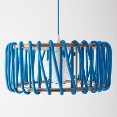 Macaron Oak Lamp, Blue - 45cm - Lights - EMKO - Space & Shape - 2
