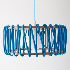 Macaron Oak Lamp, Blue - 45cm - Lights - EMKO - Space & Shape - 2