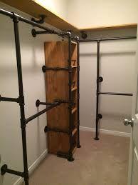 Closet bedroom Trendy pipe closet system industrial style 16 Ideas How Mothers Can An Pipe Closet, Loft Closet, Closet Office, Diy Casa, Closet Remodel, Closet Bedroom, Diy Bedroom, Bathroom Closet, Trendy Bedroom