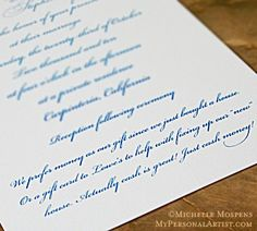 Can I add a Gift Registry information to my Wedding Invitations? (click image to read article)