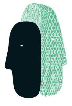 Illustration for Bon Visage magazine