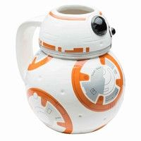 Wish | Star Wars: The Force Awakens BB-8 Sculpted Ceramic Mug (Color: Multicolor)