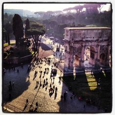 Twitter / EaudItalie: All roads lead to Rome... ...