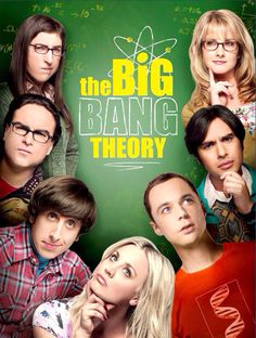 The Big Bang Theory Poster.