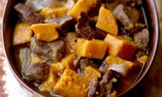 You'll love the flavours of this delicious slow cooked spiced lamb and sweet potato casserole - it's just the perfect thing to eat on cold nights.