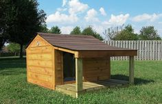 Outdoor Pet Solutions - Custom Cedar Dog Houses - Made in Nashville