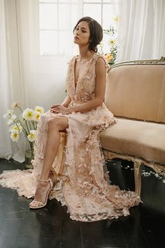 Alexandra Grecco - Savannah Floral Gown
