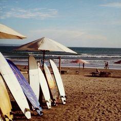 #surfboards #kutabeach #bali