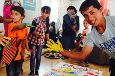 Children and their parents at Zaatari Refugee Camp, Jordan, participating in World Refugee Day activities last year. World Refugee Day, Year 6, Geography, Ronald Mcdonald, Parents, Knowledge, Culture, Messages, Activities
