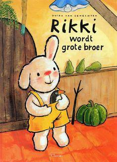 Boekenhoek: Rikki wordt grote broer