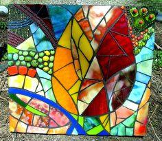 Abstract Tulip Mosaic
