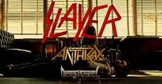 Slayer, Anthrax & Death Angel, The Fillmore at Miami Beach Florida 9/28/16