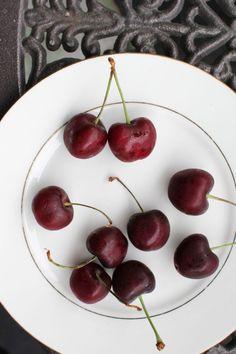On New Town Bakery and Cherry Season. Cherry Season, Steamed Buns, Cherries, Bakery, Fruit, Summer, Food, Maraschino Cherries, Summer Time