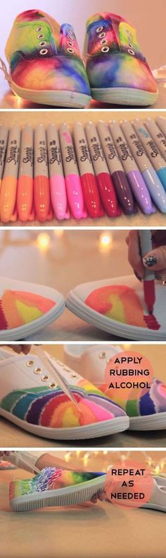 DIY your photo charms, 100% compatible with Pandora bracelets. Make your gifts special. Make your life special! Best DIY Rainbow Crafts Ideas - Rainbow Shoes - Fun DIY Projects With Rainbows Make Cool Room and Wall Decor, Party and Gift Ideas, Clothes, Jewelry and Hair Accessories - Awesome Ideas and Step by Step Tutorials for Teens and Adults, Girls and Tweens http://diyprojectsforteens.com/diy-projects-with-rainbows