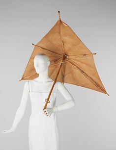 Elsa Schiaparelli (Italian, 1890–1973). Parasol, 1937–40. The Metropolitan Museum of Art, New York. Brooklyn Museum Costume Collection at The Metropolitan Museum of Art, Gift of the Brooklyn Museum, 2009; Gift of Arturo and Paul Peralta-Ramos, 1955 (2009.300.1223)