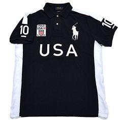 Polo Ralph Lauren Mens Big Pony Country Custom Mesh USA #ralphLauren #polo