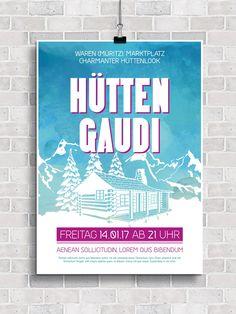 83 besten Flyer, Plakate & Co: Design-Vorlagen, Templates und ...