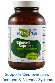 Supports Cardiovascular, Immune and Nervous System support