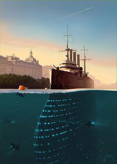 A Separate Reality: Concept Art by Alex Andreyev – Inspiration Grid | Design Inspiration