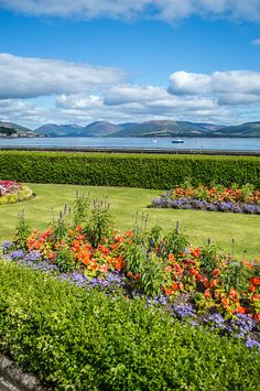 ༺✿༺ Rothesay, Isle of Bute,  Argyll and Bute, Scotland.