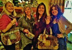 Happy customers @ the VIP Sarabella James Holiday Trunk Show