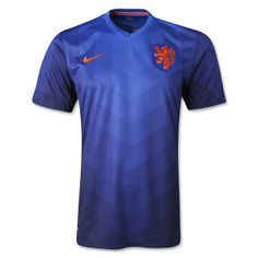 """According to Nike: The Netherlands will wear a unique and vibrant new away kit that combines performance innovation with design details from Dutch culture – unveiled at Westergasfabriek in Amsterdam by national team players Joël Veltman, Davy Klaassen and Jean-Paul Boëtius.  """"The design of this away jersey is youthful and will inspire pride in Dutch players and fans,"""" said Martin Lotti Global Creative Director, Nike Football."""