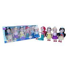 MONKEY BRANDS--Set de 5 Princesas-exito.com