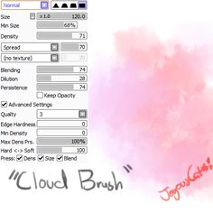 Paint Tool Sai brushes More
