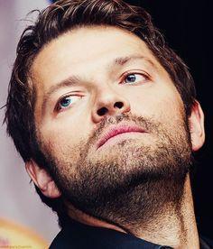 Misha/Castiel (LOVE his character on Supernatural!)