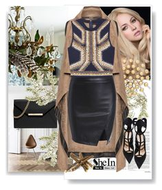 """SheIn"" by suncokret-12 ❤ liked on Polyvore featuring Universal Lighting and Decor, MICHAEL Michael Kors, Mat, Barbara Bui and shein"
