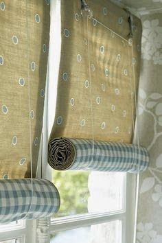 simple and easy roll up blinds i wonder if i could make my own thermal blackout curtains this way
