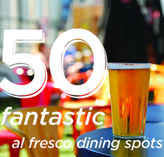 Al Fresco Dining in Boston and Surrounding Neighborhoods.