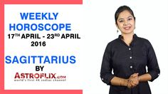 #Sagittarius - #Weekly #Horoscope for 17th to 23rd #April 2016 #astrology #Zodiac