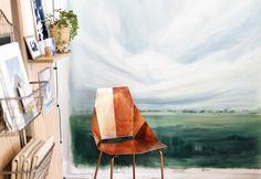 Peeking inside the sunny SC studio of Emily Jeffords by Design Sponge // yeahTHATgreenville