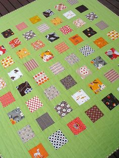 Red Pepper Quilts: The Finished Jaffa Quilt