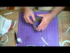 ▶ How To Make A Round Box From Chipboard! - YouTube