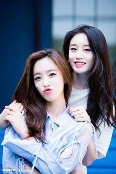 """""""Eunjung and Jiyeon for Dispatch"""" Kpop Girl Groups, Korean Girl Groups, Kpop Girls, Cute Korean Girl, Asian Girl, K Pop, Korean Beauty, Asian Beauty, T Ara Eunjung"""