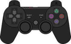 """""""Retro Sony Playstation Game Controller by Chillee Wilson"""" Stickers by ChilleeWilson Playstation Consoles, Playstation Games, Video Game Party, Party Games, Video Games, Game Remote, Teepee Party, Gaming Station, Gaming Wallpapers"""
