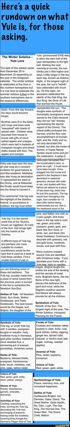 Yule tradition...filed under Christmas as it is often associated with Christmastime